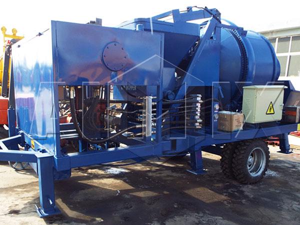 JB40R дизельный бетоносмесительный насос