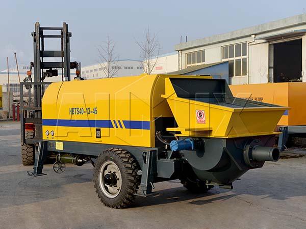HBTS40-13-45 электрический прицепной бетононасос
