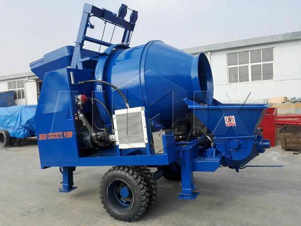 JBS30 бетоносмеситель с насосом цена