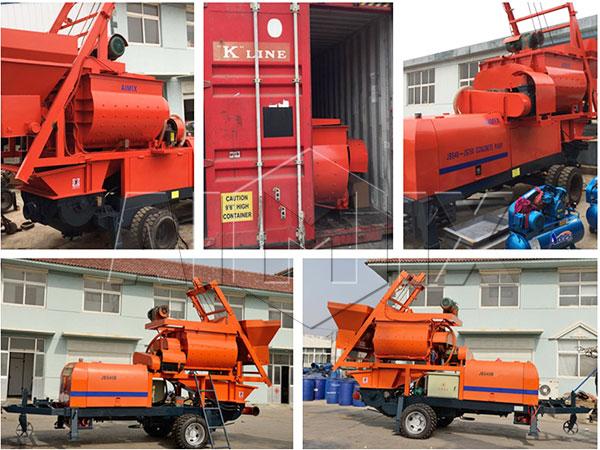 JBS40-JS750 был отпрален в Филиппины