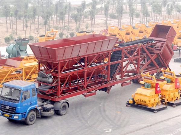 купить мини бетонный завод на колесах