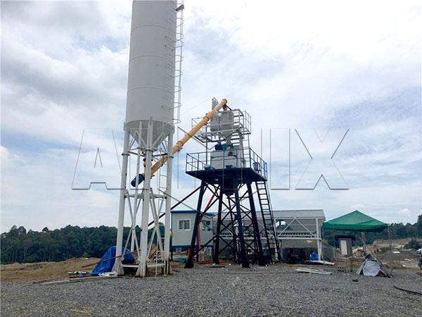 мини бетонный завод цена