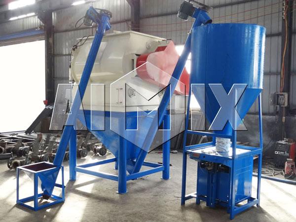 AIMIX оборудование для производства сухих строительных смесей