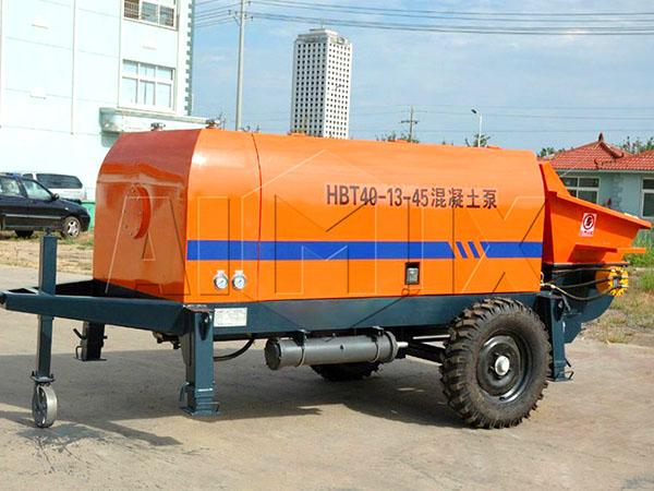 бетононасос стационарный электрический HBT40