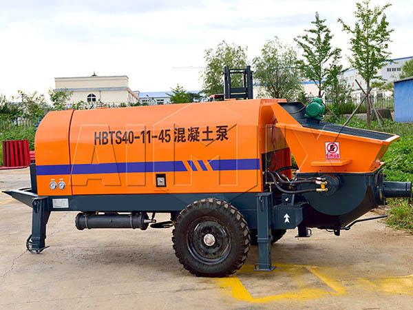 мини бетононасос HBT-40