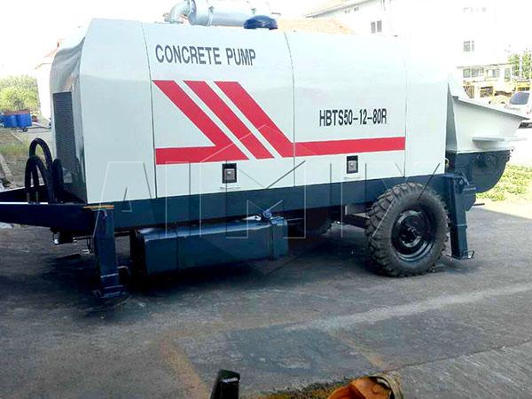 стационарный дизельный бетононасос HBT-50SR