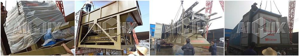 Бетонные заводы у производителя AIMIX были экспортированы на Узбекистан