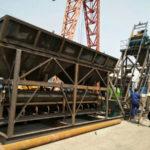 Aimix бетонный завод HZS 25 был отправлен на Узбекистан