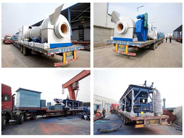 Мобильный асфальтовый завод 40 тонн
