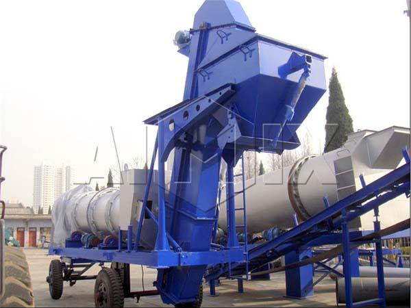 Мобильный асфальтовый завод DHB 40
