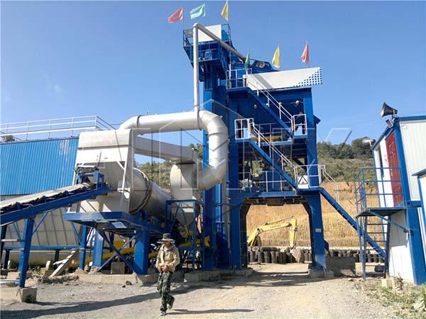 асфальтосмесительная установка AIMIX на Мьянма