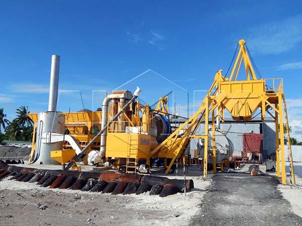 Мобильный мини асфальтный завод высокого качества