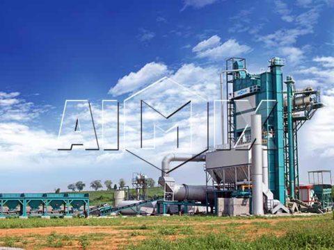 Стационарные асфальтные заводы из Китая