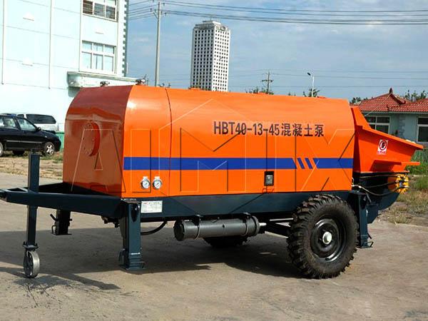 HBT40-13-45 бетононасос электрический