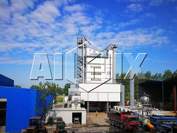 Стационарный асфальтосмесительный завод