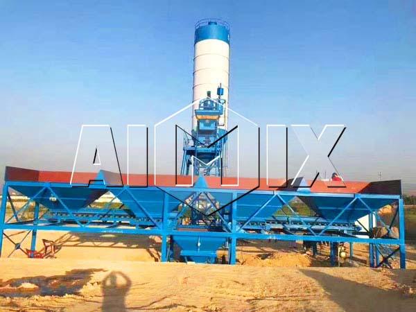 мини завод бетона с производительностью 25 м3/ч