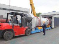Асфальтный завод 100 тонн/час был отправлен в Индонезию