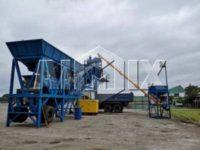 Мобильный бетонный завод 35 м3/ч на Филиппинах