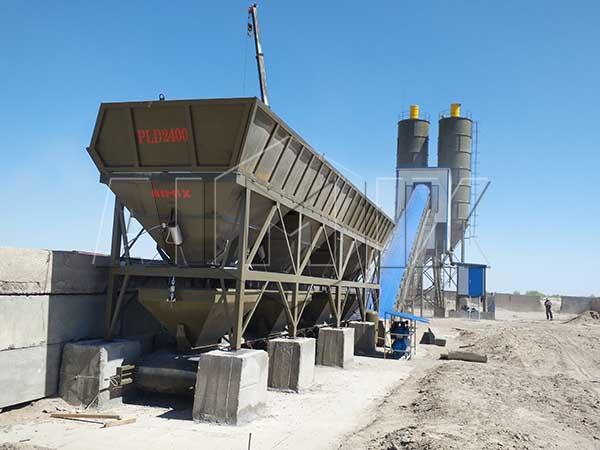 Бетонный завод 90 м3/ч в Узбекистане