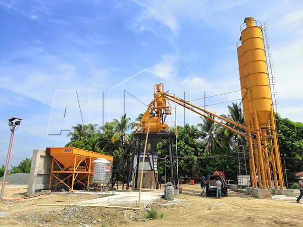 Стационарный бетонный узел 35 м3/ч