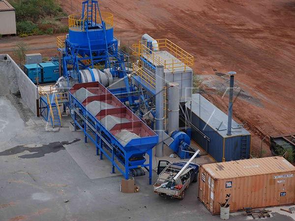 Асфальтный завод 40 тонн в час