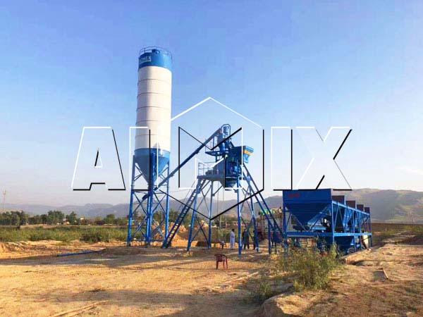 Бетонный завод 25 м3/ч