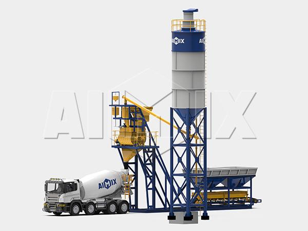 Компактный бетонный завод 35 м3/ч