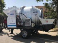 Бетоносмеситель с насосом 40 м3/ч был отправлен на Бангладеш