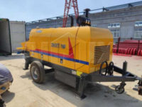 Прицепной бетононасос с производительностью 40 м3/ч в Малайзию