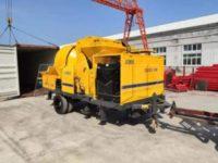 Ямайка: бетономешалка с насосом 40 м3/ч