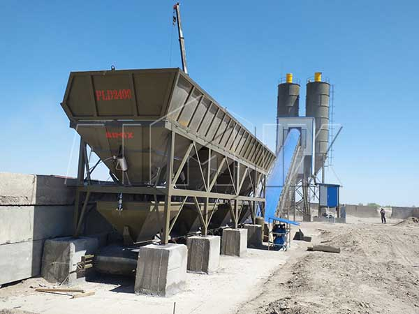 Стационарный бетонный завод 90 м3/ч